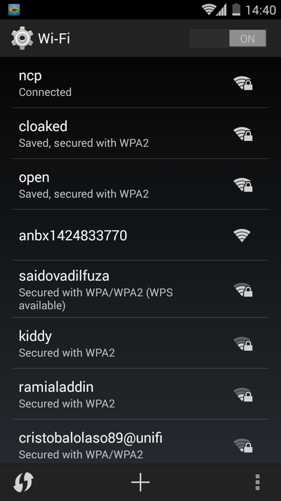 Anonabox WiFi Settings