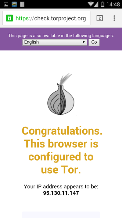 TOR Project Check